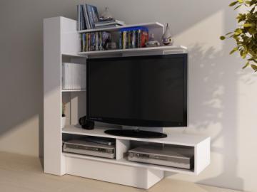 TV-Wandmöbel KABELLO mit Stauraum - Weiß