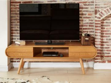 TV-Möbel Holz Daven - Naturfarben