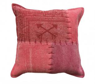 45x45 Kissen Lyrical Pillow 210 Multi / Rot von Kayoom