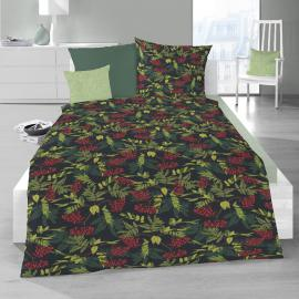 Schlafgut Soft Touch Cotton Bettwäsche Sorba black forest