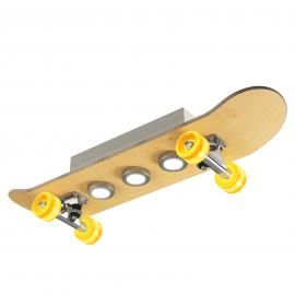 Lampa sufitowa LED Light Cruiser, skateboard