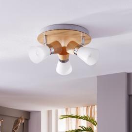 Lampa przysufitowa KOGA 1153 Shilo styl nowoczesny, stal