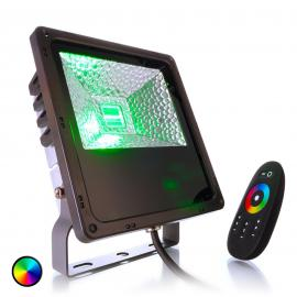 Spot d'extérieur LED Flood Color RF-30, 30 W IP65