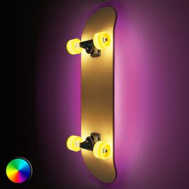 Applique LED Light Cruiser en forme de skateboard