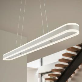 Helestra Liv - suspension LED allongée, dimmable