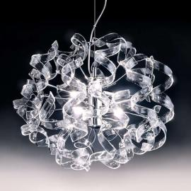 Splendide suspension CRYSTAL ovale