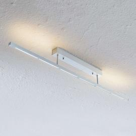 Plafonnier LED Rico, dimmable, alu mat, 118 cm