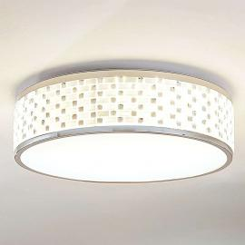 Plafonnier LED rond Glenlia, dimmable
