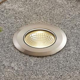 Spot encastrable LED Sulea inox IP67 rond