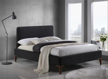 Time Living Black Durban Bed Frame - King Size (5' x 6'6)