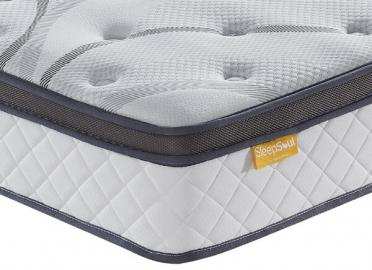 SleepSoul Heaven 1000 Pocket Pillow Top Mattress - Double (4'6 x 6'3)