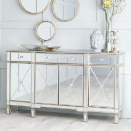 Versailles Mirrored Large Sideboard