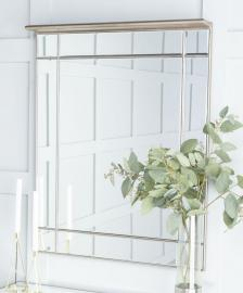 Versailles Venetian Mirrored Rectangular Wall Mirror - 80cm x 100cm