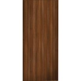 Spacepro Sliding Wardrobe Door Walnut Frame & Panel - 2220 x 610mm