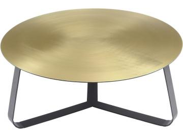 Orich Brass Disc Coffee Table - Large