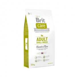 Hundefutter für Allergiker Brit Care Adult Small Breed mit Lamm & Reis