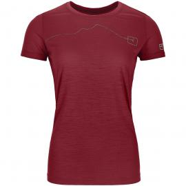 Ortovox Damen 120 Tec Mountain T-Shirt Rot L