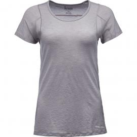 Black Diamond Damen Rhythm T-Shirt (Größe XS, Grau) | T-Shirts Merino > Damen