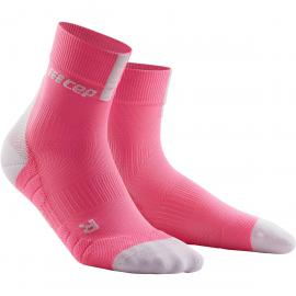 CEP Damen Short Socks 3.0 Socken (Pink) | Fahrradsocken > Damen