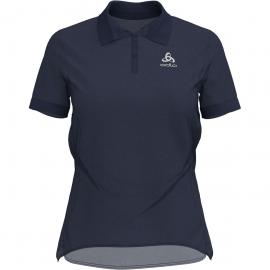 Odlo Damen New Trim Polo T-Shirt (Größe XL, Blau)