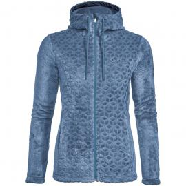 Vaude Damen Skomer Soft Fleece Jacke (Größe 3XL, Blau) | Fleecejacken > Damen