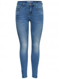 ONLY Onlkendell Ankle Zip Skinny Fit Jeans Damen Blau