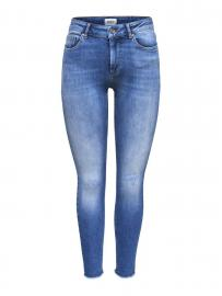 ONLY Blush Mid Ankle Skinny Fit Jeans Damen Blau