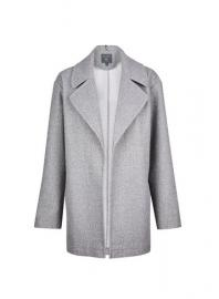 **Tall Grey Lightweight Throw On Jacket - Dorothy Perkins