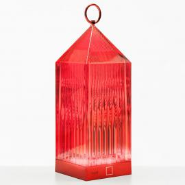 Kartell lantern LED tafellamp, rood IP54