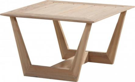 4 Seasons Outdoor Cancun salontafel teak 70 x 70 x 45 cm. - Teak - Tuinmeubelen