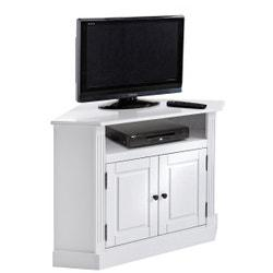 Mueble para TV de esquina Authentic Style, de pino macizo