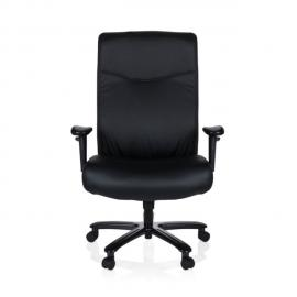 Hjh Office Fauteuil de bureau Xxl Everest simili cuir noir
