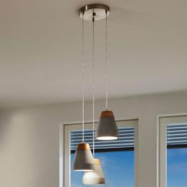 Suspension Tarega au design industriel