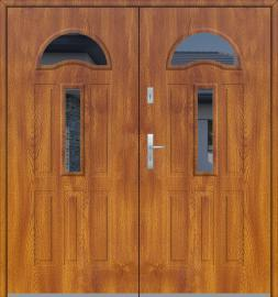 Fargo 34 double - double front doors / french doors