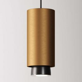 Fabbian Claque suspension LED 20 cm bronze