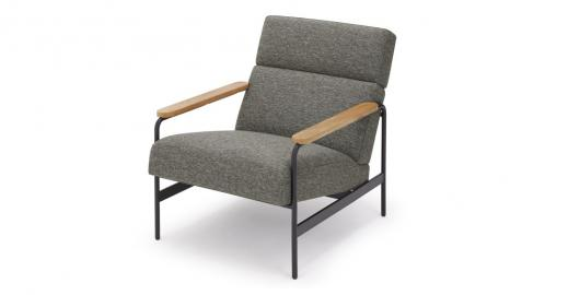 Kingston, fauteuil, gris