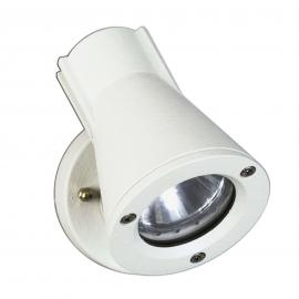 Projecteur mural ext 639 blanc,pivotant/inclinable