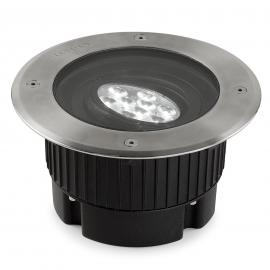 Spot encastrable au sol LED Gea 9 W