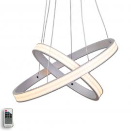 Suspension LED Largo couleur aluminium