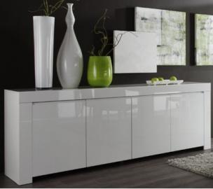 Buffet Amalfi 8 - commode blanche