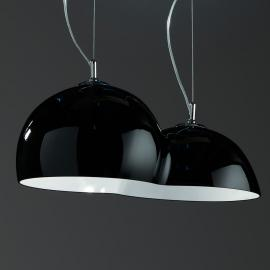 Extraordinaire suspension Globulo noir