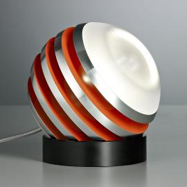 Lampe à poser LED BULO orange