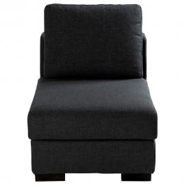 Chauffeuse de canapé modulable gris anthracite Terence