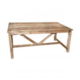 Table de jardin en bois Normand 6/8 places