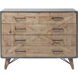 Karedesign Commode X Factory 5 tiroirs Kare Design