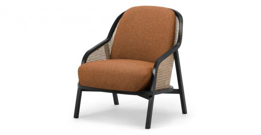 Anakie, fauteuil, orange dune