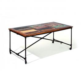 Altobuy Fabrik - Table sur roulettes