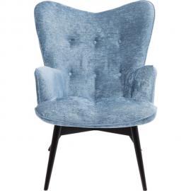 Karedesign Fauteuil Queens Cosy bleu Kare Design FS INSPIRE