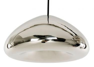 Suspension Void - Tom Dixon acier poli en métal