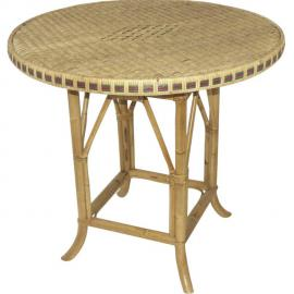 AUBRY GASPARD Table rotin